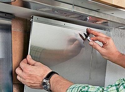 Установка фартука на кухне - на что и как крепить своими руками
