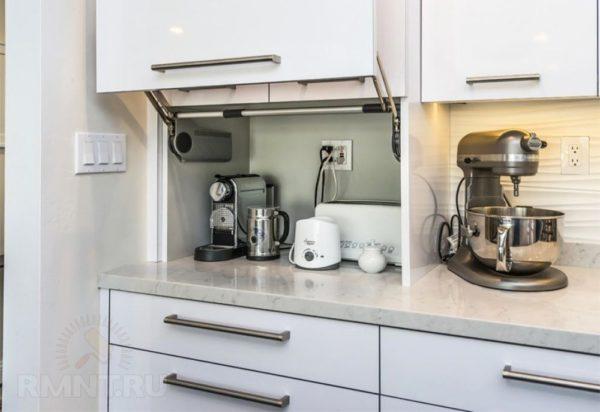 Правила расположения техники на кухне - варианты размещения мойки и плиты