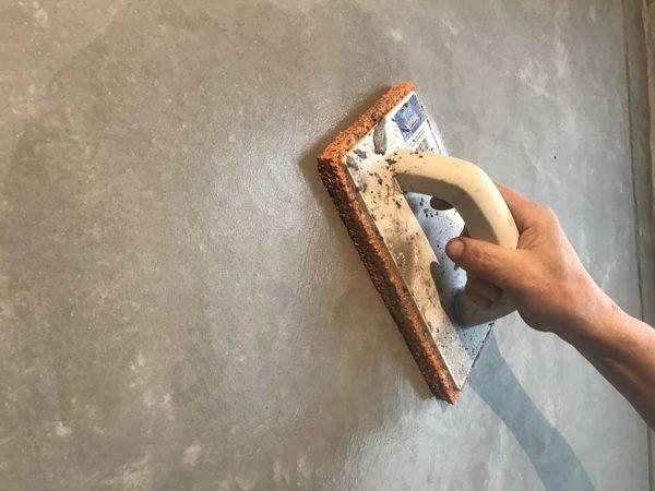 Венецианская штукатурка на кухне - использование венецианки для стен