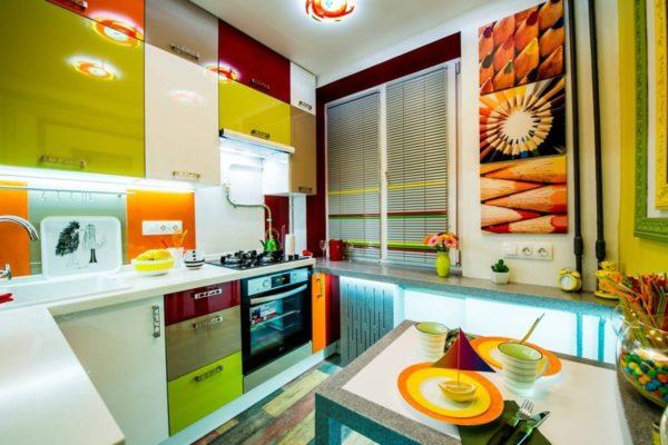 Дизайн салатовой кухни - иди оформления гармоничного интерьера