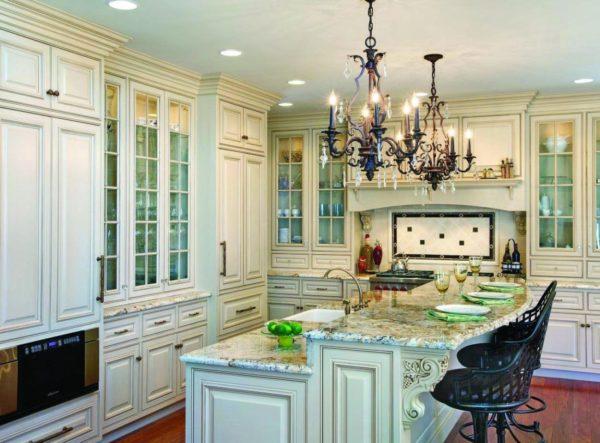 Какие люстры подходят для кухни - варианты использования в современном интерьере