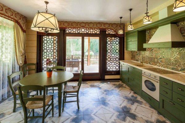 Марокканский стиль в интерьере кухни  - арабские мотивы у вас дома