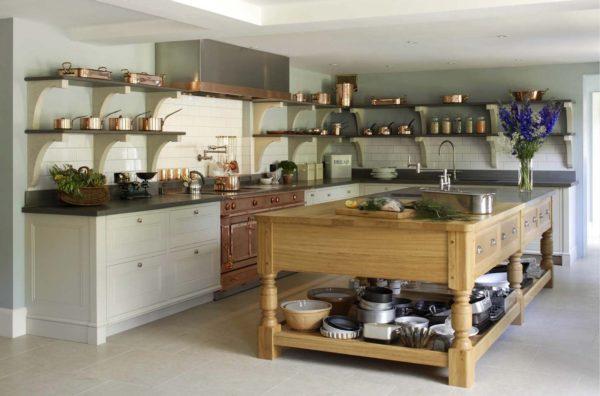 Дизайн кухни в стиле ретро - варианты оформления интерьера