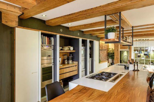 Экостиль в интерьере кухни - оформление дизайна и варианты отделки