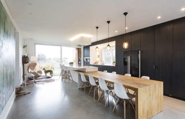 Дизайн черной кухни - идеи для гармоничного интерьера