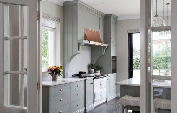 Дизайн кухни в зеленых тонах - оформляем современный интерьер