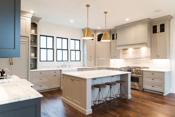 Дизайн американской кухни у себя в доме - классический интерьерр