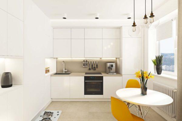 Цвет кухонного гарнитура для маленькой кухни - сочетание и характеристики расцветок