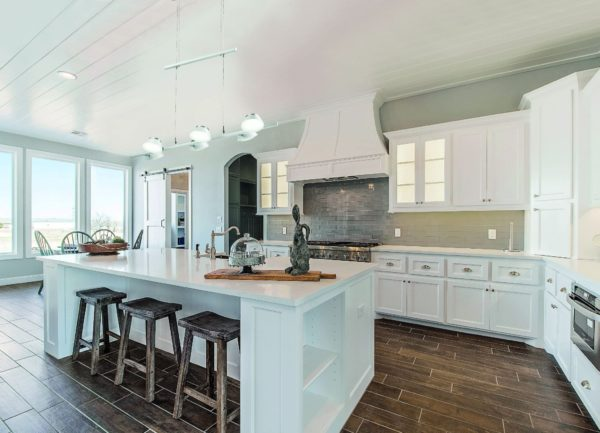 Стиль неоклассика в интерьере кухни - идеи дизайна