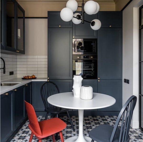 Дизайн кухни в современном классическом стиле - варианты оформления интерьера