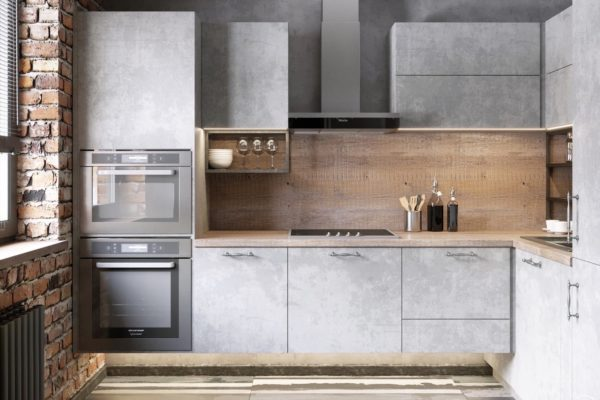 Дизайн кухни в стиле лофт - идеи оформления современного интерьера