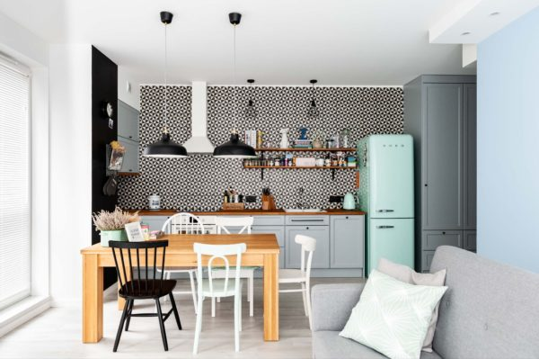 Скандинавский стиль в интерьере кухни - идеи оформления дизайна