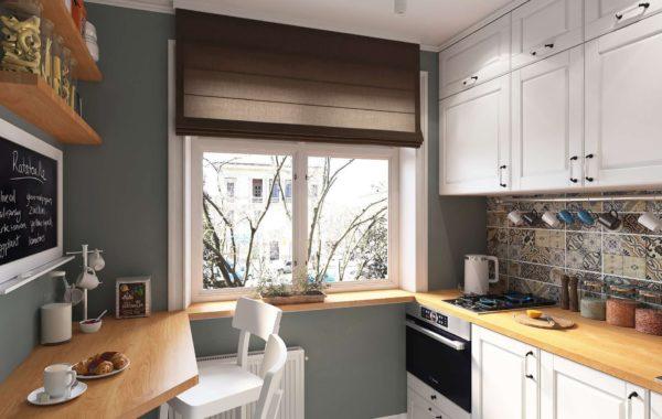 Как выбрать кухонный гарнитур для маленькой кухни - красивые варианты дизайна