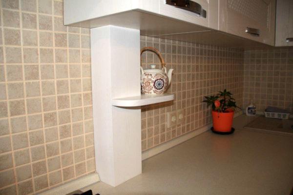 Как закрыть газовую трубу на кухне - идеи декорирования и маскировки