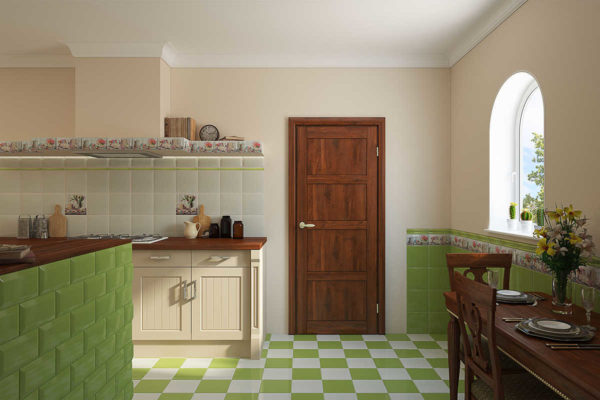 Декоративная плитка на кухне - идеи дизайна облицовочного кафеля